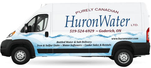 Huron Water Ltd delivery van