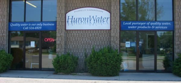 Huron Water Ltd store entrance